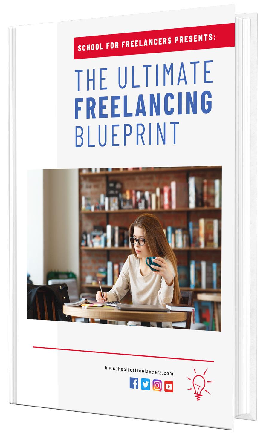 freelancing blueprint ebook cover