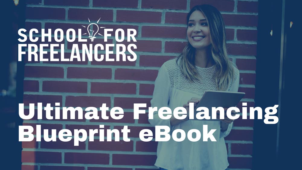 ultimate freelancing blueprint ebook for freelance resources page