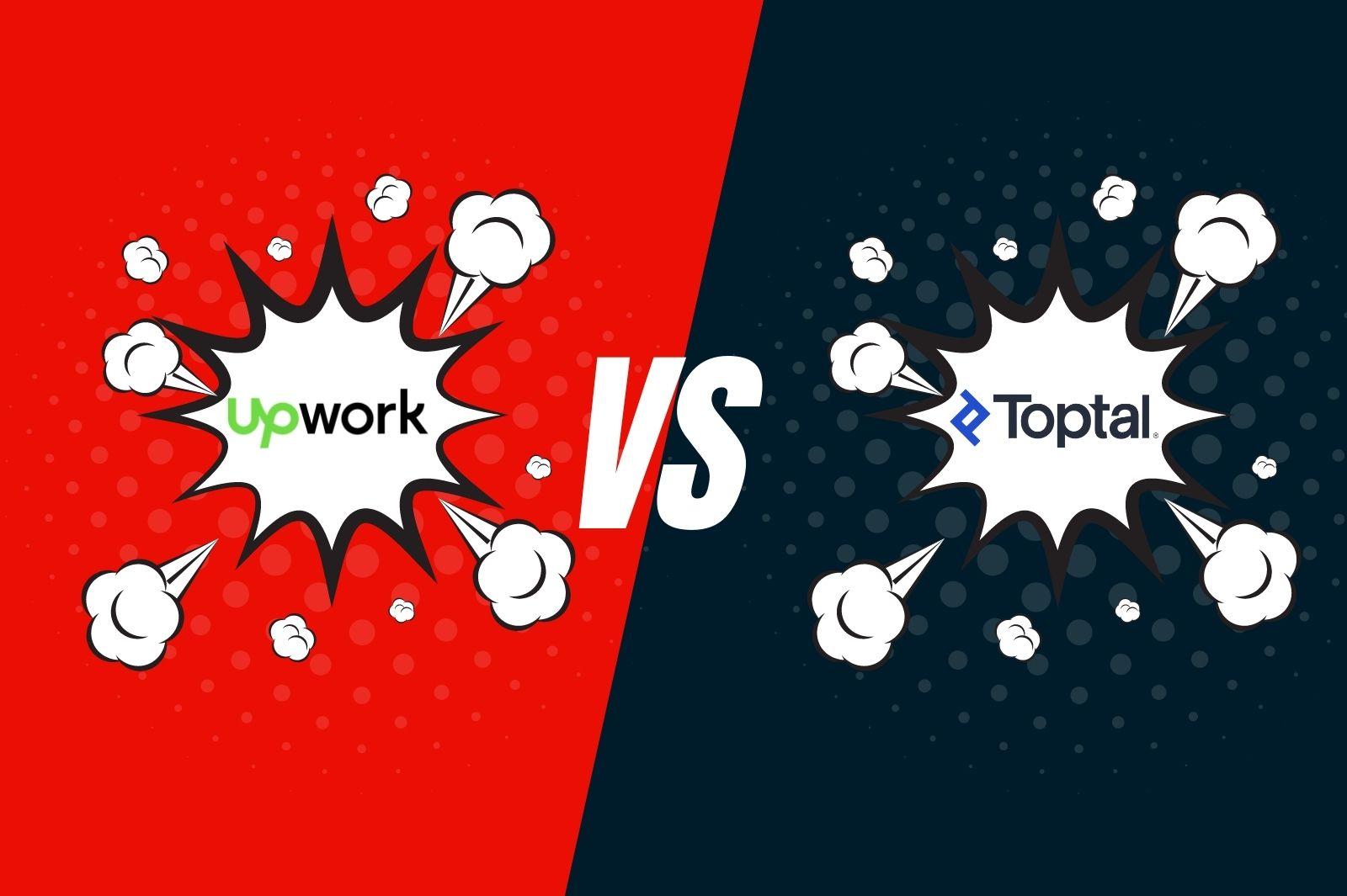 upwork vs. toptal